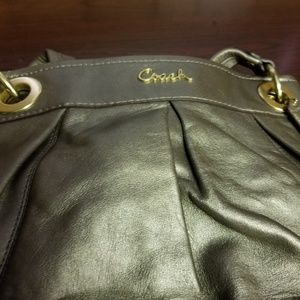 Coach Metallic handbag